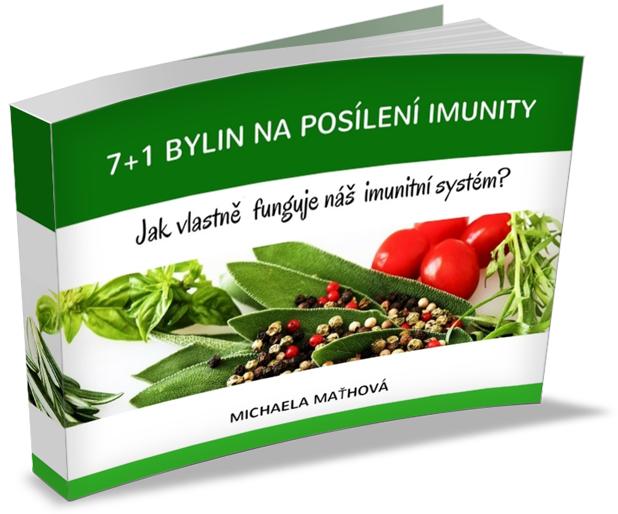 Ebook zdarma 7+1 bylin naposílení imunity